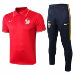 Maillot Polo France 19-20 red