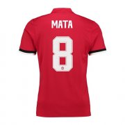 Maillot Manchester United UCL Mata Domicile 2017 2018