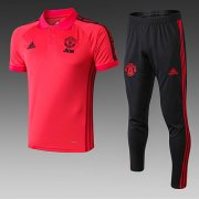 Maillot Polo Manchester United 19-20 red