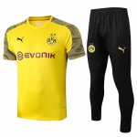 Maillot Survetement Dortmund 19-20 yellow