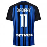 Maillot Inter Milan Biabiany Domicile 2017 2018