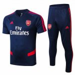Maillot Survetement Arsenal 19-20 Bleu