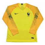 Maillot France Gardien Manche Longue yellow 2018