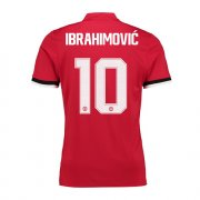 Maillot Manchester United UCL Ibrahimovic Domicile 2017 2018