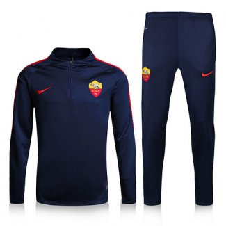 Survetement As Roma 2016 2017 Royal blue
