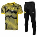 Maillot Survetement Dortmund 19-20 Jaune