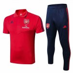 Maillot Polo Arsenal 19-20 red