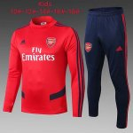Enfant Survetement Arsenal 19-20 red