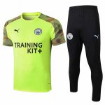 Maillot Survetement Manchester City 19-20 yellow