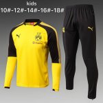 Enfant Survetement Dortmund 2017 2018 yellow Black
