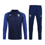 Enfant Survetement France 2016 2017 Royal blue