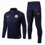 Survetement Manchester City 2017 2018 Navy blue