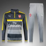 Survetement Arsenal 2016 2017 Gray-black