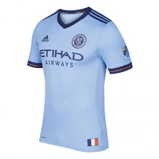 Thailande Maillot New York City Domicile 2017 2018