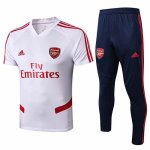 Maillot Survetement Arsenal 19-20 Blanc