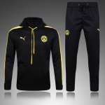 Survetement Dortmund 2016 2017 Hooded Black