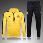 Survetement Dortmund 2016 2017 Hooded yellow