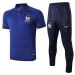 Maillot Polo France 19-20 Bleu