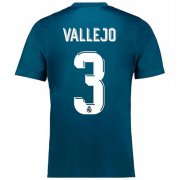 Maillot Real Madrid Vallejo Third 2017 2018