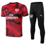 Maillot Survetement Arsenal 18-19 Pattern red