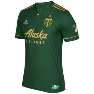 Thailande Maillot Portland Timbers Domicile 2017 2018