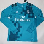 Maillot Real Madrid Enfant Manche Longue Third 2017 2018