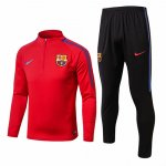 Survetement Barcelone 2017 2018 Red