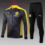 Enfant Veste Dortmund 19-20 Gray yellow