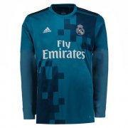 Maillot Real Madrid Manche Longue Third 2017 2018