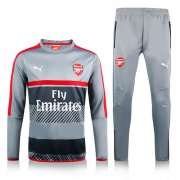 Survetement Arsenal 2016 2017 Gray red