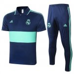 Maillot Polo Real Madrid 2020-21 Blue-green