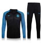 Survetement Barcelone 2016 2017 Blue sleeves